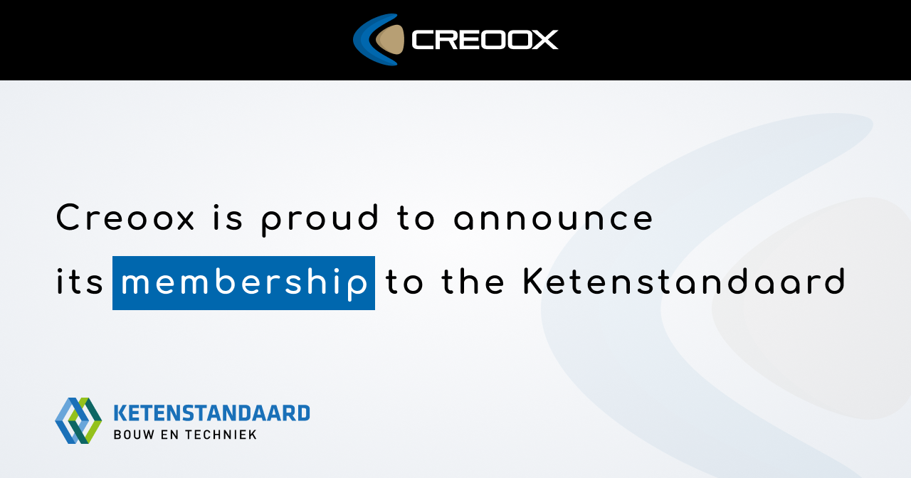 Creoox Is Proud To Announce Its Membership To The Ketenstandaard